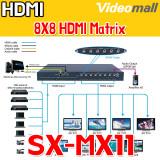 SX-MX11 / 8x8 HDMI Matrix , HDMI 매트릭스