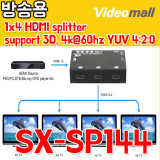 SX-SP144 - 1x4 HDMI splitter