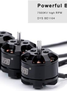 DYS 1004 7500KV 브러쉬리스 모터 4개 세트
