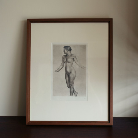 [Art Print]Max Klinger Photogravure