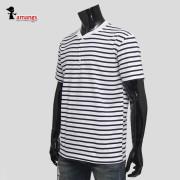 남성 단가라 반팔티 is177 여름 스트라이프 티셔츠