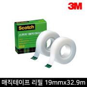 [3m] 매직테이프 리필 810R 19mmx32.9m