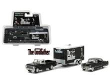 활용도 최고 미국인기 그린라이트 어부바트럭셋트 영화 대부 버젼 선물용 인테리어 드림카 미니카 64스케일 자동차피규어