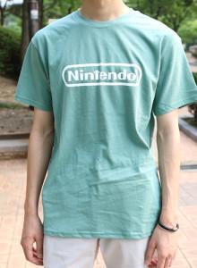 빈티지 컬러 여름 반팔 티셔츠 2color