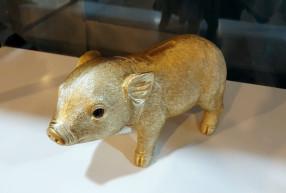 Coinbank pig gold / 돼지 저금통
