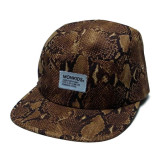 MONKIDS 14 Snake 5Panel Cap (Brown)