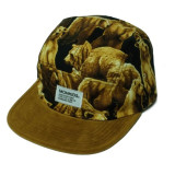 MONKIDS Bears Hairy Fake Suede 5P Cap (Brown)