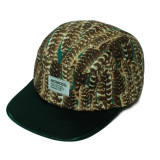 MONKIDS Pheasant Shiny Stain Brim Cap (Dark Green)