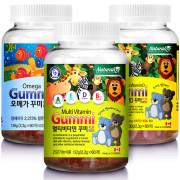 [네추럴라이즈] (승명)새콤달콤 어린이 멀티비타민/칼슘/오메가3 꾸미 선택