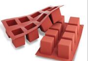 실리코마트 큐브 8구 정사각 실리콘틀 SF104