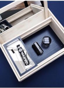 NOMESS Balsa Box Personal Black / Blue