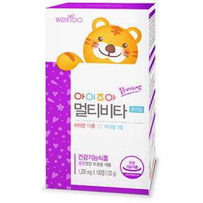 에프앤디넷 아이조아 멀티비타 츄어블 종합 영양 보충용 제품