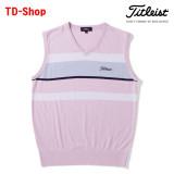 타이틀리스트 멀티보더 베스트 남성 골프웨어 남자 골프의류 TSMK1765 티디샵