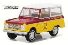 미국인기미니카 그린라이트 1967 포드 브롱코 러닝온엠티시리즈 쉘버전 선물용 인테리어 드림카 64스케일 자동차피규어