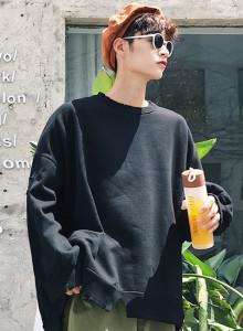 ★주문폭주★ 오버핏 레터링 패치 맨투맨 / overfit lettering patch mtm (3color)