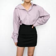 여성 와이드 셔츠 (3color)