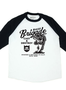 Bass Brigade Mascot Raglan Tee (1컬러/5사이즈)