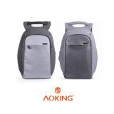 쓸데없이 고퀄 AKI-FN7706 도난방지백팩/오피스백팩/USB충전지원/비지니스백팩/여행용백팩/데일리백팩/노트북15인치 수납/도난방지히든포켓/캐리어결합/방수백팩/직장인백팩/학생백팩