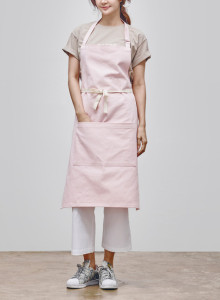 카인듀 / 데님 / 앞치마 / KINDEW denim apron (pink)