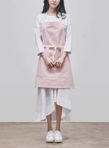카인듀 / 카인듀캣 / 앞치마 / KINDEW kindew cat apron (pink)