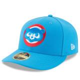 [정품] MLB모자 시카고컵스모자 2017 Men's Chicago Cubs New Era Blue 2017 Low Profile 59FIFTY Fitted Hat