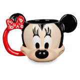 [디즈니정품] 미니 마우스 머그컵 Minnie Mouse Sculptured Mug - Disney Cruise Line