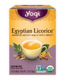 요기 티 이집트 리코리스 차 (무 카페인) Yogi Tea Egyptian Licorice 16 tea bags