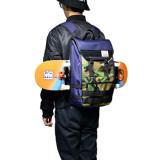 쓸데없이 고퀄 20640 스케이트보드 백팩/익스트림 백팩/노트북백팩/여행용백팩/다기능 멀티백팩/노트북수납/방수백팩/남여공용/대학생백팩/배낭여행/충격보호/스케이트 보드 배낭