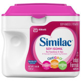 씨밀락 락토스 프리 SOY ISOMIL 분유(철분포함) Similac Isomil Soy Infant Formula with Iron, Powder 1.45 lb