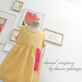 [한설한복]22.J 봄 개나리 컬러 생활한복 원피스