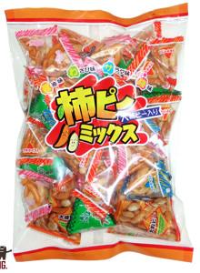 카키피 믹스 /6개 일본 간식 안주 주전부리