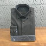 예작 옥스포드 솔리드 기본 블랙 셔츠 YJ6FBP584