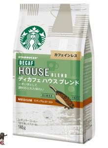 스타벅스 재팬 디카 하우스 블렌드/3개 디카페인 커피