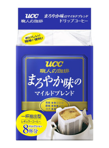 일본 UCC 장인의 커피 드립 마일드 블렌드8P/6세트