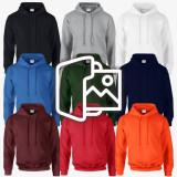 [프린팅] 후드 티셔츠 - USA fit (12500)