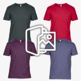 [프린팅] 얇은 고급 원단 티셔츠 - USA fit (6750)