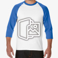 [프린팅] 긴팔 래글런 티셔츠 - Asia fit (76700)