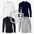 [프린팅] 긴팔 티셔츠 - Asia fit (76400)