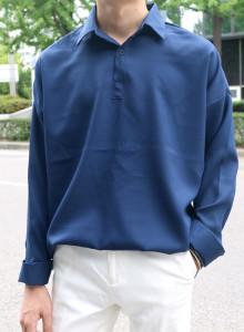 에드맨즈 폴리 반 오픈 셔츠