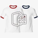[프린팅] 반팔 링거 티셔츠 - Asia fit (76600)