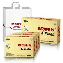 레시피더블유 프로폴리스 1422mg 30정 x 3박스 3개월분 + 쇼핑백 / 칼슘