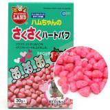 마루칸 소동물간식 바삭바삭 딸기 하트퍼프 30g