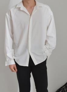 오버핏 기본셔츠 [더블리]FL