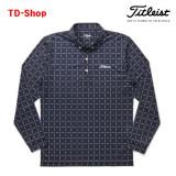 타이틀리스트 격자무늬 긴팔 셔츠 골프웨어 TWMC1706 티디샵