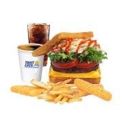 (토스트럭) 햄버거토스트+사이드+음료