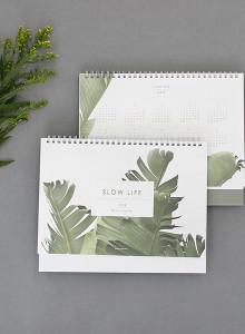 2018 Slow Life Desk Calendar