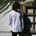 노카라 반오픈 셔츠