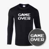 [마켓인벤] 8비트 게임 긴팔 티셔츠