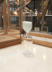 &K Hour glass white 5 min