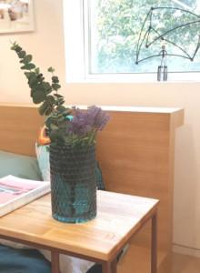 &K Vase 70 dark green / 화병